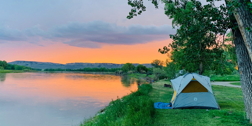 Camping in Lewistown, Montana