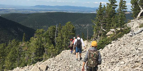 Hiking in Lewistown, Montana