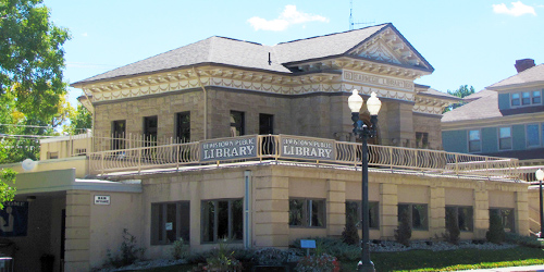 Lewistown Public Library in Lewistown, Montana