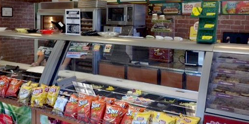 Subway in Lewistown, Montana