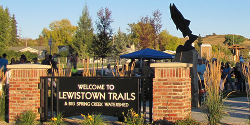 Lewistown Trailhead in Lewistown, Montana